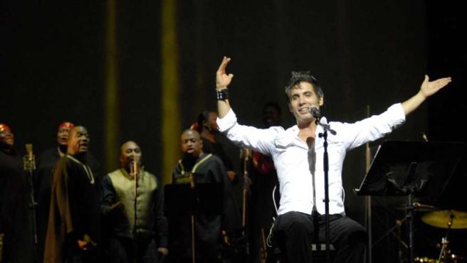 El cantante estará hasta el domingo en el Principal.