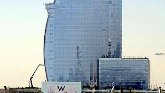 El hotel Vela de Barcelona.