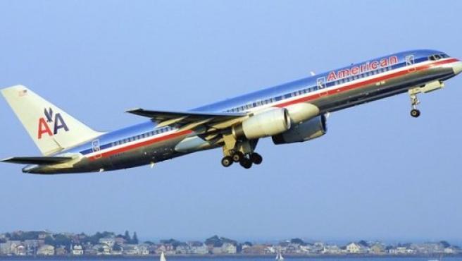 Imagen de archivo de un avión de American Airlines.