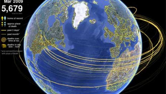 Imagen de la herramienta Map the Fallen.