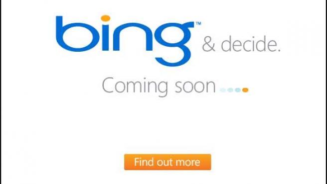 Logo del buscador Bing.