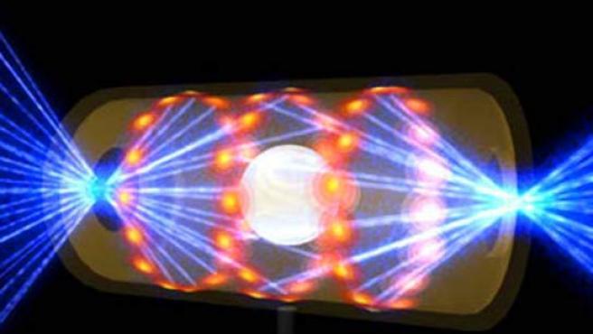 El láser es capaz de provocar explosiones termonucleares.