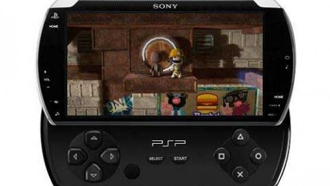 La consola portátil PSP Go.