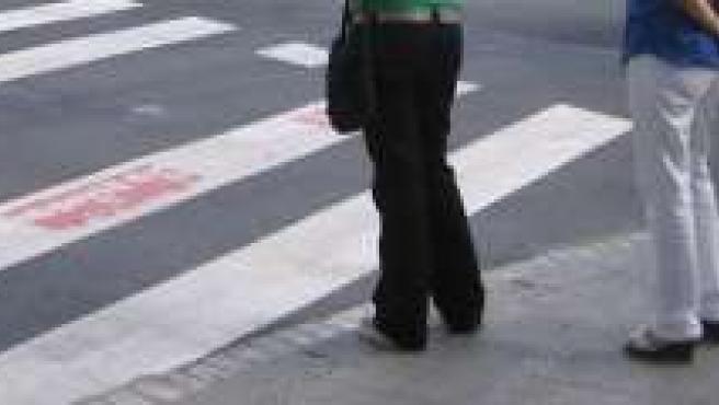 Pasos de peatones.