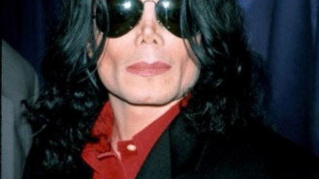 El cantante estadounidense Michael Jackson.