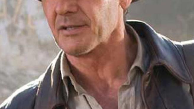 Harrison Ford en 'Indiana Jones y el Reino de la Calavera de Cristal'.