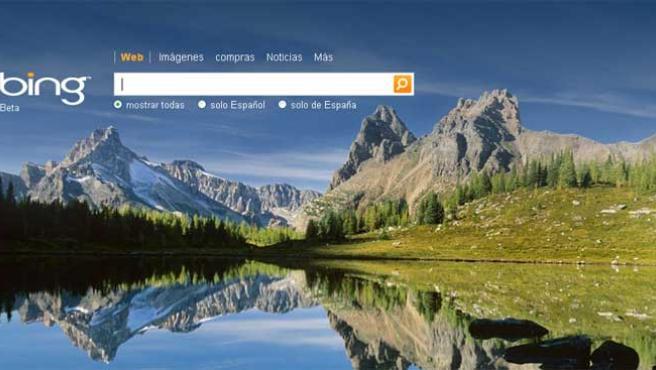 Bing, el nuevo buscador de Microsoft.
