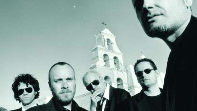 El grupo de rock español Siniestro Total