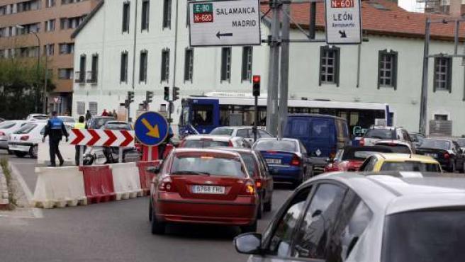 Corte avenida Salamanca.