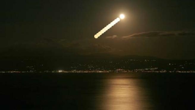 La Luna sobre Turquía.