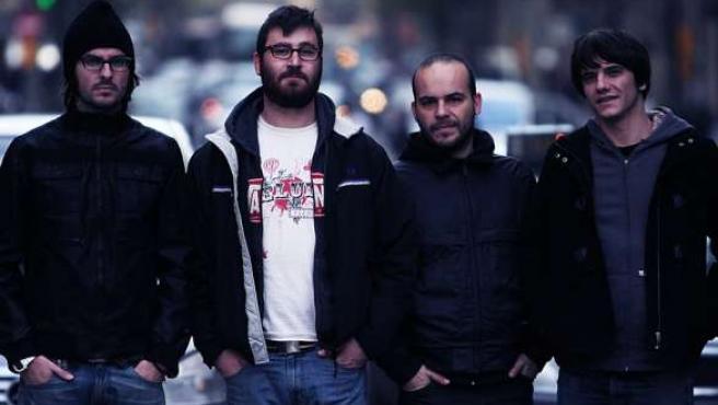 El cuarteto barcelonés.
