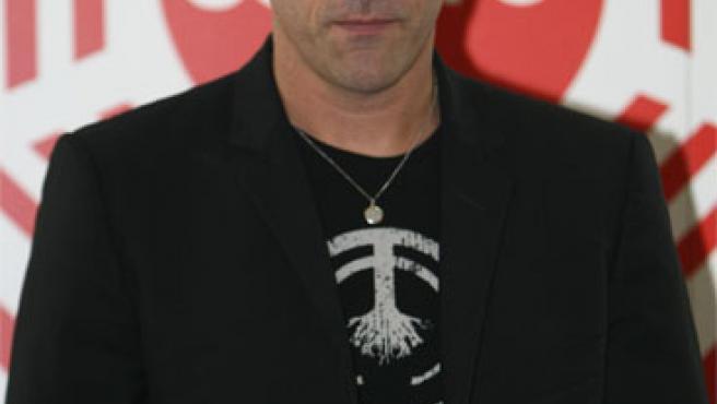 Matthew Fox, en el acto de promoción de Cuatro.