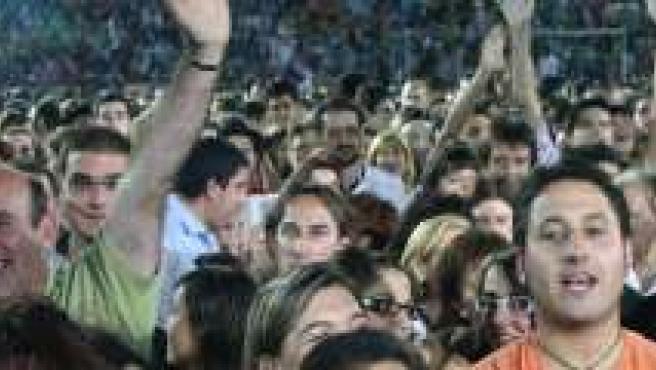 Público en un concierto.