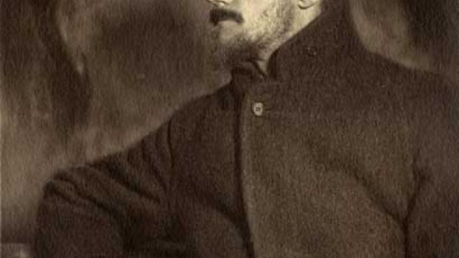 Retrato de James Joyce.