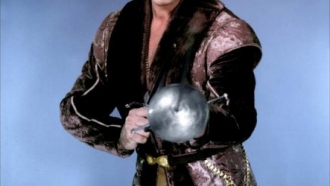 El actor Errol Flynn.