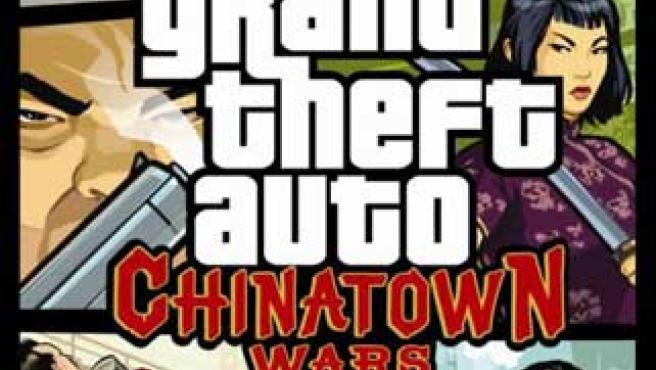 Carátula del GTA Chinatown Wars para PSP.