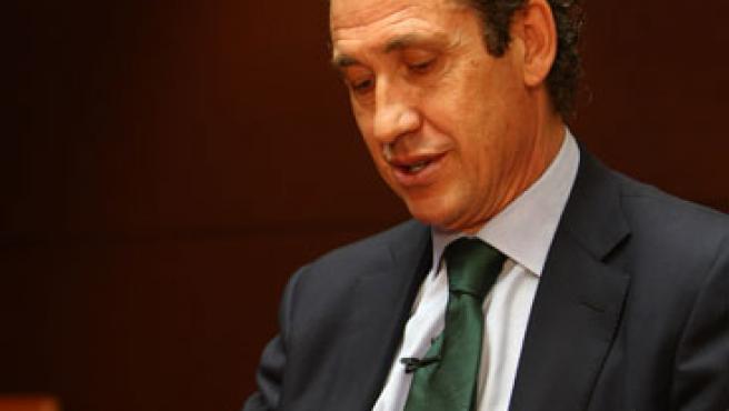 Una imagen de archivo de Jorge Valdano, director deportivo del Real Madrid.