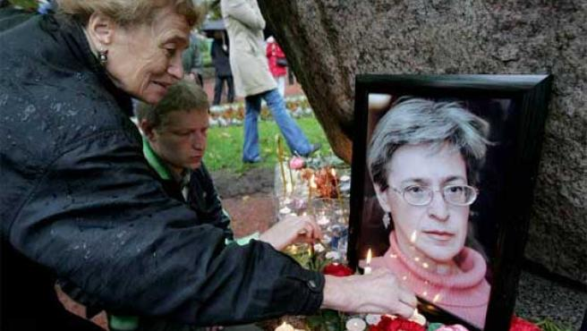 La periodista Anna Politkovskaya fue asesinada en Rusia. Era conocida por su espíritu crítico e independiente.