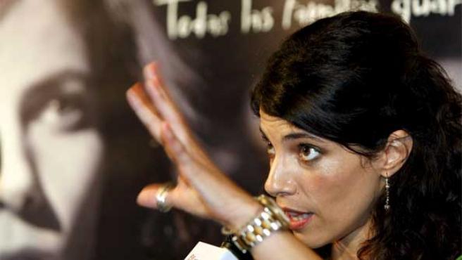 Maribel Verdú, durante la presentación de 'Tetro'.