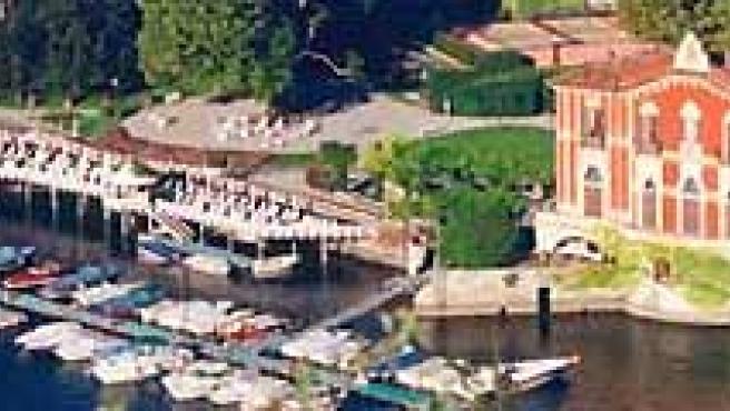 El hotel Villa D'Este, en el famoso y romántico lago italiano de Como.