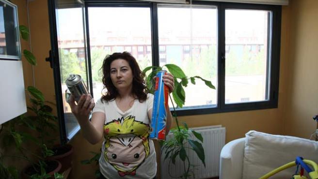 Silvia Núñez, de Butarque, se ha llegado a levantar hasta con 20 picotazos de mosquitos en el cuerpo.
