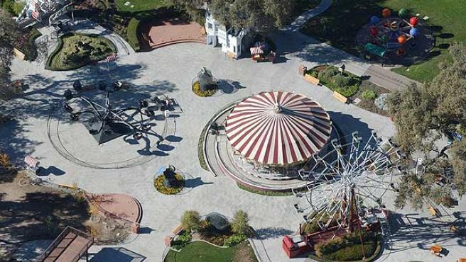 El parque de atracciones de Neverland.
