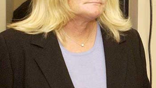 Una imagen de Debbie Rowe, del 28 de abril de 2005.