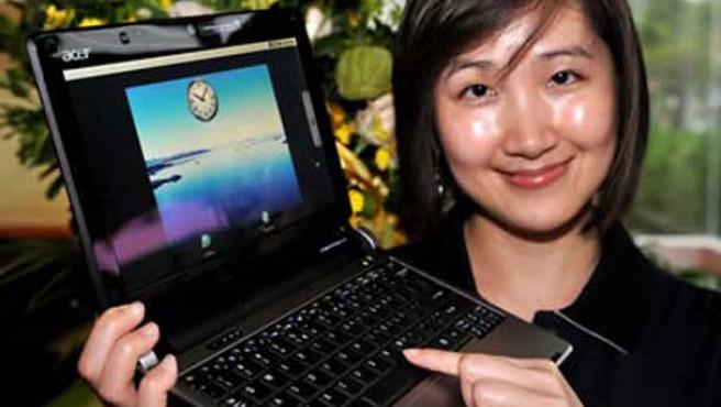Acer será el primer fabricante en llevar el sistema operativo Android a los portátiles.