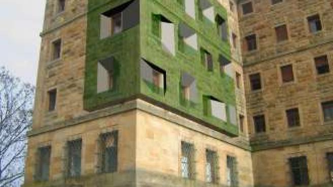 Recreación de los pisos de la Laboral (Gijón)