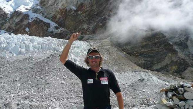El montañero español Jesús Calleja.