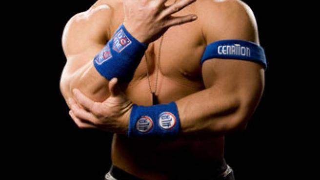 El luchador de la WWE John Cena.