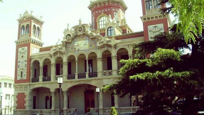 Imagen del palacio de Larrinaga.