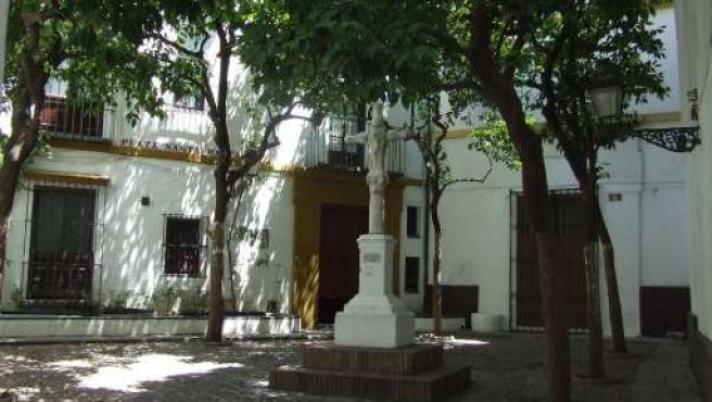 Plaza de Santa Marta, en Sevilla.