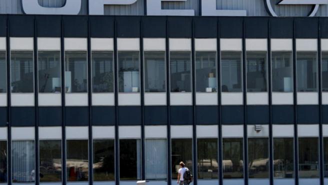 Una planta de la marca Opel en Europa.