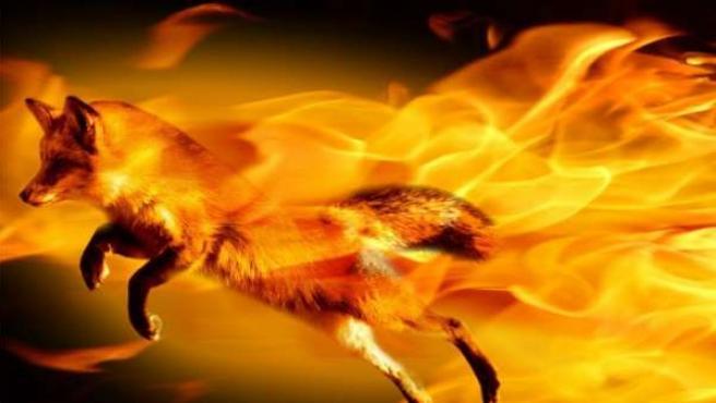Imagen promocional del navegador Firefox.