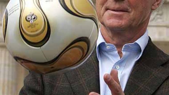 Franz Beckenbauer, presidente del Bayern.