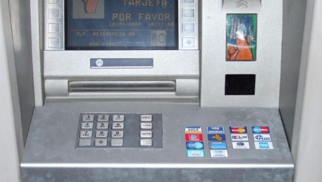 Un cajero automático, en una foto de archivo.