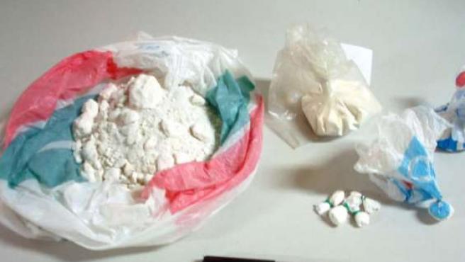 La Policía se incautó de cocaína como ésta. (ARCHIVO)