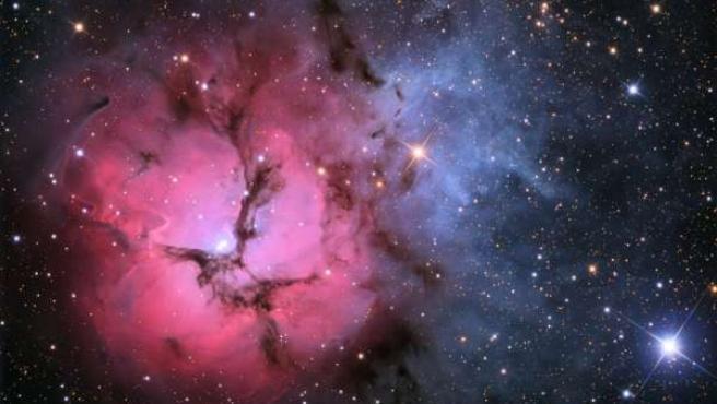 La nebulosa de Trífida.