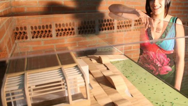 Una joven vallisoletana ha diseñado una casa que funciona con la energía solar.