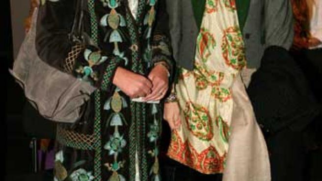 Simoneta Gómez-Acebo y Laura Ponte, aún cuñadas, en una imagen de archivo.