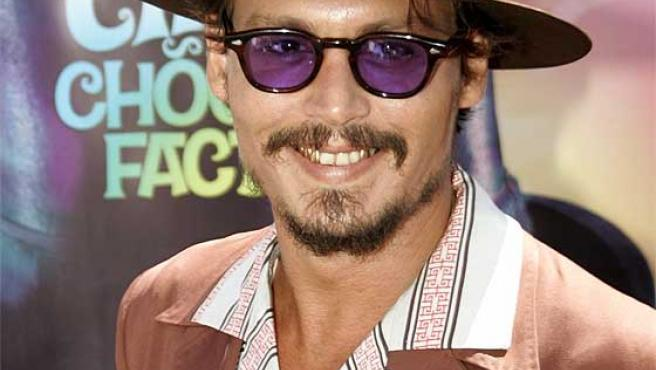 El actor estadounidense Johnny Depp.