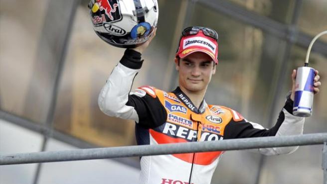 El piloto catalán de MotoGP Dani Pedrosa.