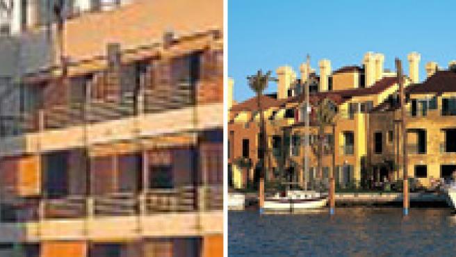 Los apartamentos más baratos se encuentran en Tenerife (izquierda); los más caros, en Cádiz (derecha).