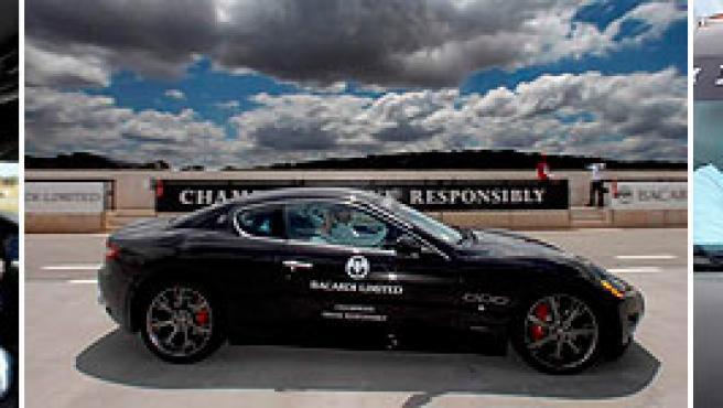 Distintas imágenes del evento con Michael Schumacher.