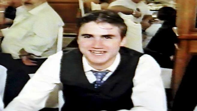 Imagen capturada de un video doméstico de Daniel Jimeno Romero, fallecido en el cuarto encierro de las Fiestas de San Fermín.
