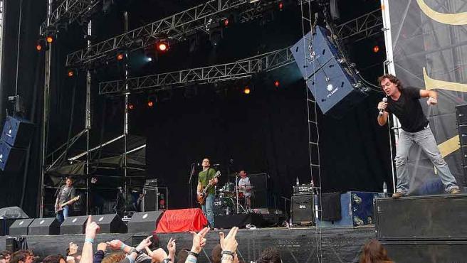 'Lendakaris Muertos' en concierto en Extremúsika 2009.