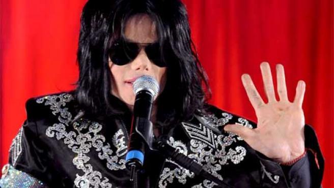 Jackson, durante una rueda de prensa el pasado mes de marzo en Londres.