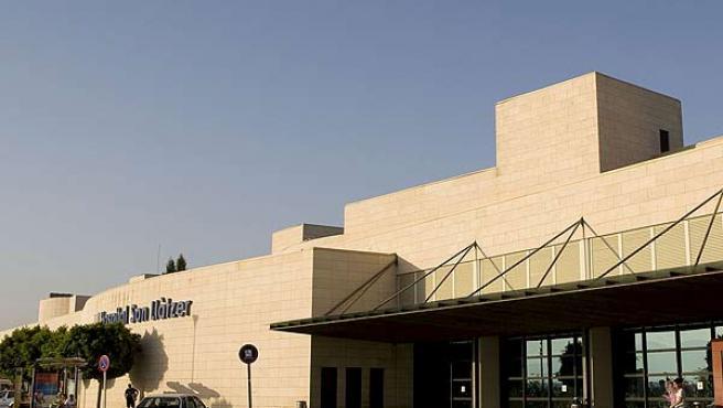 Vista del hospital Son Llatzer, de Palma de Mallorca, en el que estaba ingresada la mujer nigeriana.