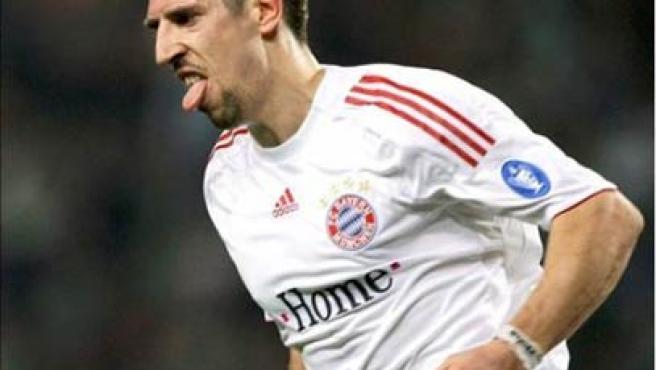 Una imagen de archivo del francés de Bayern de Munich Franck Ribéry.